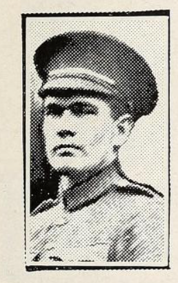 Photo of ALFRED ERNEST DAVIS– Photo from the National Memorial Album of Canadian Heroes c.1919. Submitted for the project, Operation: Picture Me.