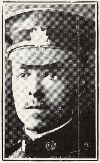 Photo of REGINALD NEVILLE CRAIG DAVIS– Photo from the National Memorial Album of Canadian Heroes c.1919. Submitted for the project, Operation: Picture Me.