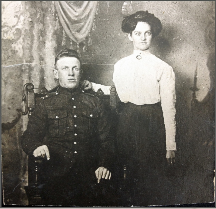 Group Photo– Charles Nicholas Dent and his wife Margaret Eleanor (nee Burton)