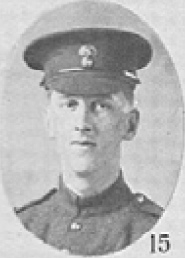 Photo of CECIL COLVILLE DUNSTAN– In memory of the men who served with the 87th Battalion CEF. Submitted for the project, Operation: Picture Me