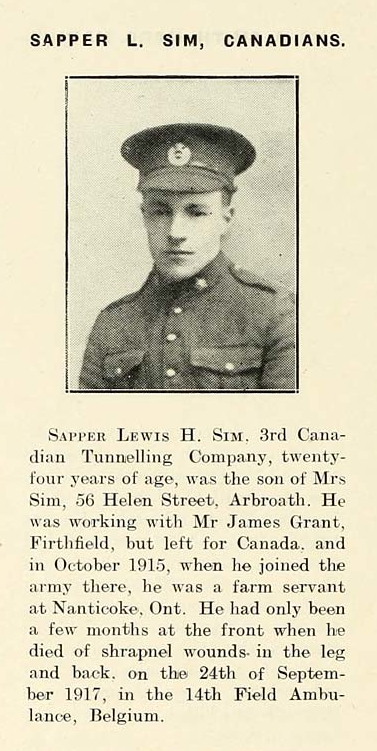 Photo of LEWIS HODGE SIM