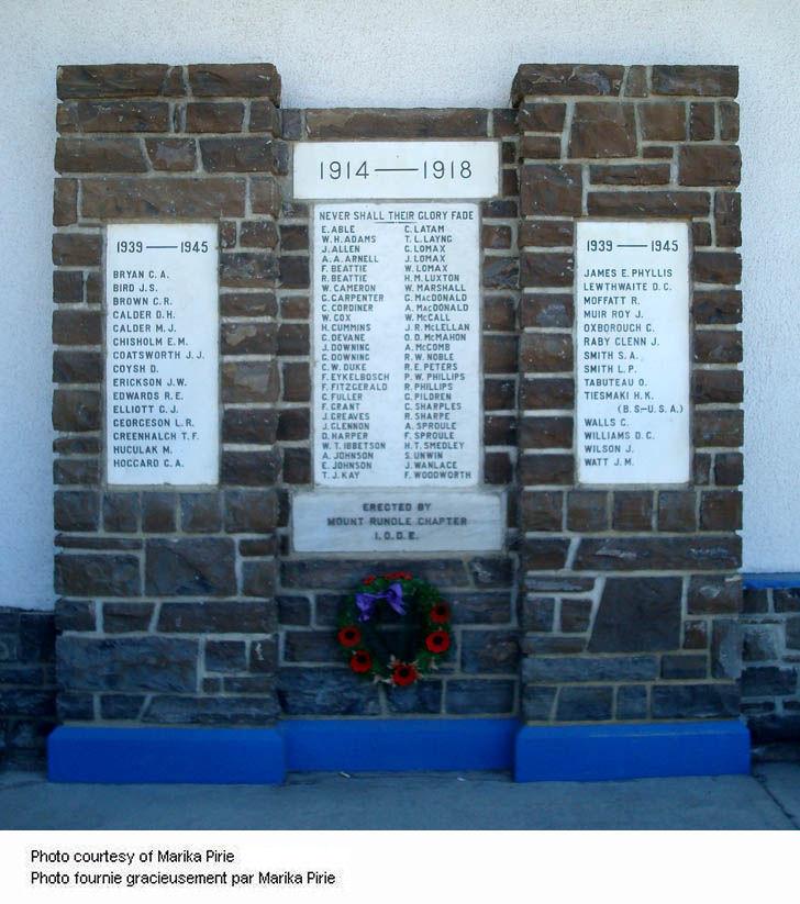 Banff War Memorial