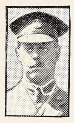 Photo of HUBERT JEFFERSON FENTON– Photo from the National Memorial Album of Canadian Heroes c.1919. Submitted for the project, Operation: Picture Me.