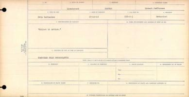 Circumstances of death registers– Killed in action in the trenches near Courcelette on 17 October 1916.