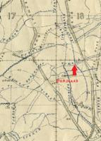 Circumstances of death registers– Extract of main trench map 57d showing the are marked as 57d.R.24.a.4.9 which would be the trench map coordinates based on the description. That can be compared to the Concentration Reports in the CWGC cemeteries.