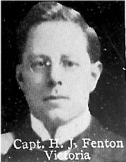 Photo of Hubert Fenton– From: The Varsity Magazine Supplement published by The Students Administrative Council, University of Toronto 1916.   Submitted for the Soldiers' Tower Committee, University of Toronto, by Operation Picture Me.
