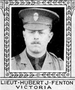 Photo of Hubert Fenton– From: The Varsity Magazine Supplement published by The Students Administrative Council, University of Toronto 1918.   Submitted for the Soldiers' Tower Committee, University of Toronto, by Operation Picture Me.