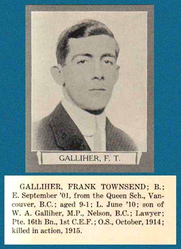 Photo of Frank Townsend Galliher