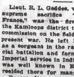 Newspaper clipping– From the Daily Colonist of September 20, 1917. Image taken from web address of http://archive.org/stream/dailycolonist59y244uvic#page/n0/mode/1up
