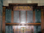 Roll of Honour– This is the Roll of Honour inside the All Saints Church.