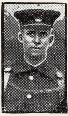 Photo of RICHARD GRIMLEY– Photo from the National Memorial Album of Canadian Heroes c.1919. Submitted for the project, Operation: Picture Me.
