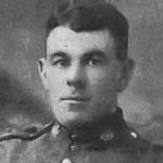 Photo of John Gunn– Private John Gunn is inscribed on the Roll of Honour in the Veterans' Narthex of Memorial United Church, Murray River, PE.  He was the son of William Gunn of Fisherman's Point, Nova Scotia.
