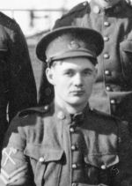 Photo of Robert Harrison– 100186 Pte Robert Henry Harrison from Newcastle upon Tyne, 66th Bn CEF 18 March 1916 trf to 10th Bn and KiA 15 August 1917