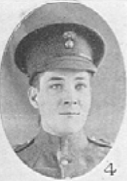 Photo of BURNEY HENRY– In memory of the men who served with the 87th Battalion CEF. Submitted for the project, Operation: Picture Me