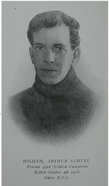Photo of Arthur Samuel Higham