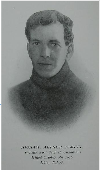 Photo of Arthur Samuel Higham– Submitted for the project, Operation: Picture Me