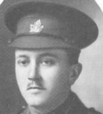 Photo of Charles Howson– In Memory of those who served in the 106th Overseas Battalion Nova Scotia Rifles.  Submitted for the project, Operation: Picture Me