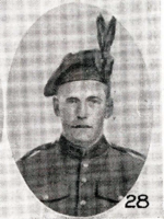 Photo of JAMES NEIL JOHNSTONE– In memory of the men who joined the 185th Battalion (Cape Breton Highlanders) who went to war and did not come home. Submitted for the project, Operation Picture Me