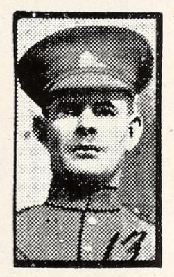 Photo of STEPHEN KOOMAS– Photo from the National Memorial Album of Canadian Heroes c.1919. Submitted for the project, Operation: Picture Me.