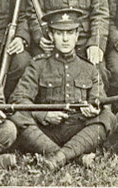 Photo of ALBERT LEACH– In memory of the men joined the 76th Battalion CEF and died while serving in other Battalions. Submitted for the project, Operation: Picture Me