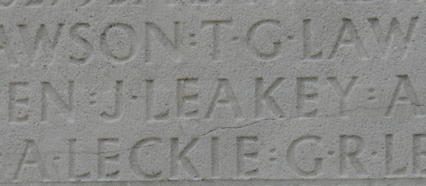 Inscription on Vimy Memorial