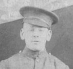Photo of Donat Leduc– Photo of Donat Leduc which was taken in Camp Valcartier in 1914