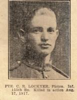 Newspaper Clipping– Photo in uniform