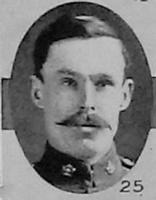 Photo of JOHN ROBERT MCCOMBE– L Cpl R J McCombe 18th Battalion as pictured in the December 1918 edition of The Christmas Echo published in London Ontario  - And in the Morning