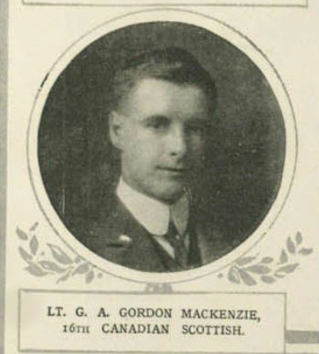 Photo of GORDON ALEXANDER GORDON MACKENZIE– Submitted for the project, Operation: Picture Me