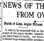 Newspaper Clipping– From the New Liskeard (Temiskaming) Speaker for 24 May 1917.