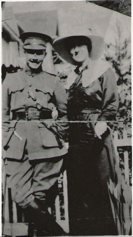 Photo of Edward and Alma McLean