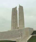Vimy Memorial– Canada's Vimy Memorial, located approximately 8 kilometres to the north-east of Arras, France. May the sacrifice of so many never be forgotten. (J. Stephens)