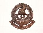 Badge– Cap badge 15th Bn CEF