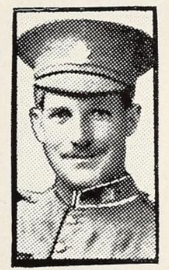 Photo of JOHN THOMAS MULLALY– Photo from the National Memorial Album of Canadian Heroes c.1919. Submitted for the project, Operation: Picture Me.