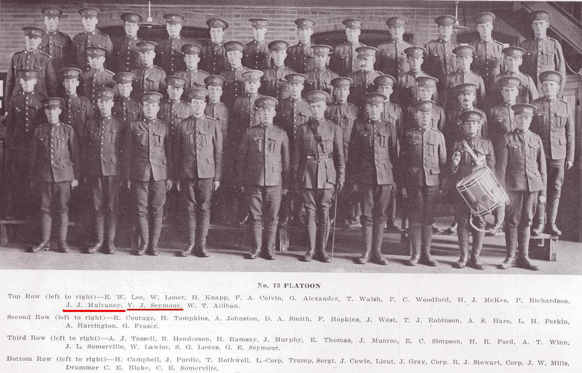 Photo of JOHN JAMES MULVANEY– 13th Platoon, D Company, 101st Battalion