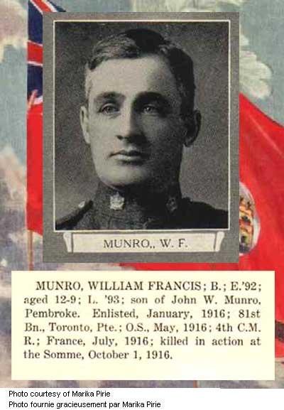 Photo of William Francis Munro