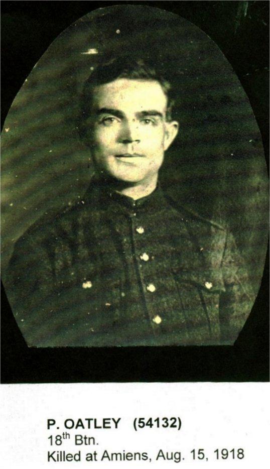 Photo of Percy Oatley