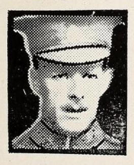Photo of CHARLES RICHARD OWENS– Photo from the National Memorial Album of Canadian Heroes c.1919. Submitted for the project, Operation: Picture Me.
