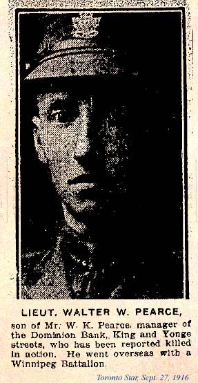 Photo of Walter King Pearce