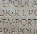 Inscription– The name as it is inscribed on the Vimy Memorial. Over 11,000 fallen Canadians having no known place of burial in France, are honoured on this Memorial. May they never be forgotten. (J. Stephens)