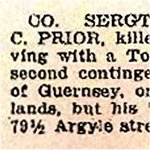 Newspaper Clipping 2– October 19th, 1916.