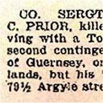 2e de Coupure de presse – Le 19 octobre, 1916