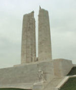 Vimy Memorial– Canada's refurbished Vimy Memorial (2010), located approximately 8 kilometres to the north-east of Arras, France. May the sacrifice of so many never be forgotten. (J. Stephens)
