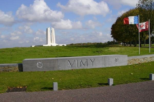 Vimy Memorial– Vimy Memorial … photo courtesy of Marg Liessens