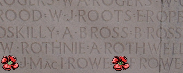 Inscription– Inscription - Vimy Memorial - August 2012 … Photo courtesy of Marg Liessens
