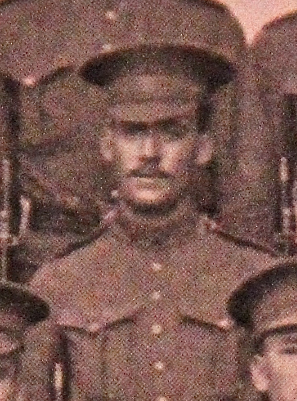 Photo of HARRY RUSSELL– Served with the 35th Battalion CEF. Submitted for the project, Operation: Picture Me