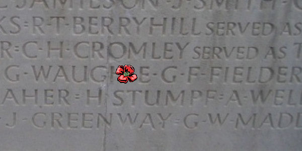 Other– Inscription - Vimy Memorial … photo courtesy of Marg Liessens