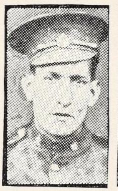 Photo of WILLIAM HENRY SANDERS– Photo from the National Memorial Album of Canadian Heroes c.1919. Submitted for the project, Operation: Picture Me.