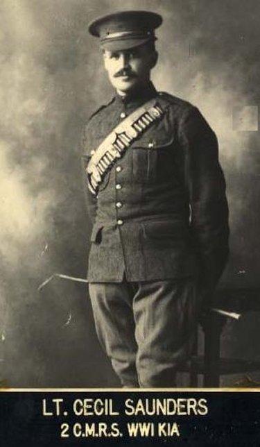 Photo of Cecil Godfrey Saunders