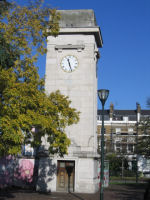 War Memorial– This is Stockwell War Memorial in London on which Albert Shopland's name is commemorated.